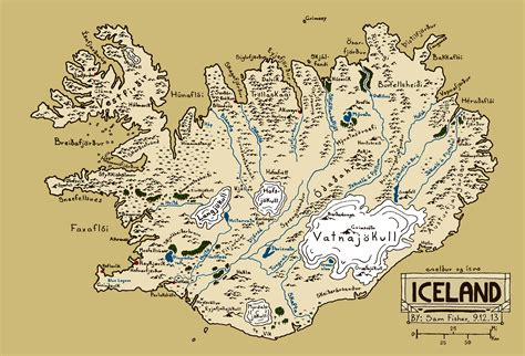 Drawing Ideas Generator someone said i should post my fantasy style map of iceland