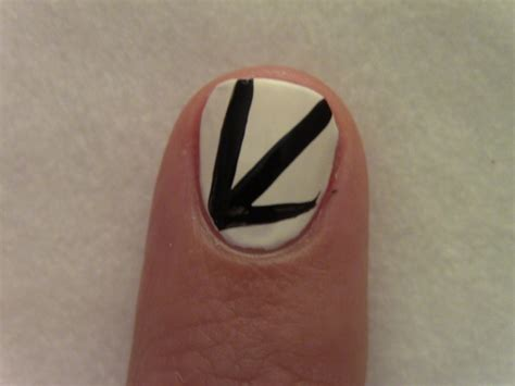 Nail With Thin Brush
