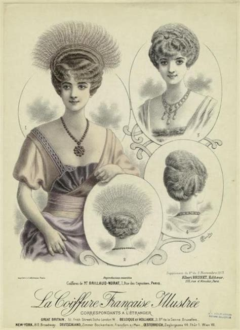 hair in 1910 1919 hair styles 1910 19 vintage hairstyles pinterest