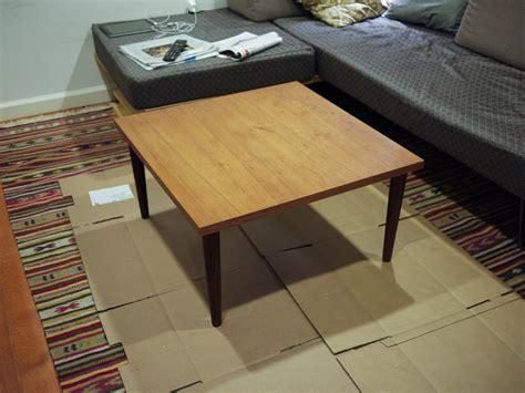Refinish Wood Coffee Table Wood Coffee Table Refinishing Drew Lustro
