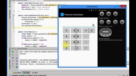 how to develop an android app how to create a calculator app for android peamon