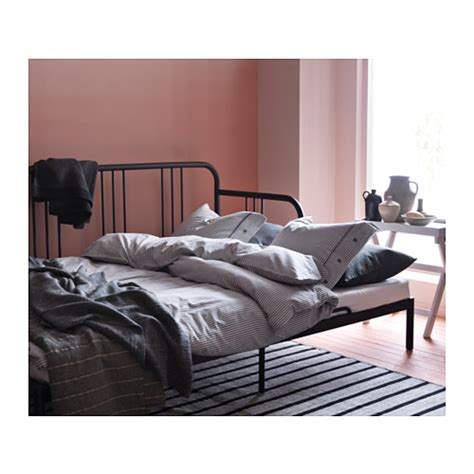 fyresdal ikea fyresdal day bed frame black 80x200 cm ikea