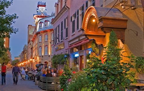 drive quebec city to montreal rail getaway to montreal and quebec city