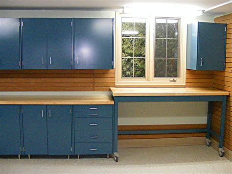 garage workbench and cabinets garage storage solutions cabinets nuvo garage