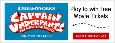 Instant Win Game Sweepstakes Official Rules - sun maid s captain underpants instant win game