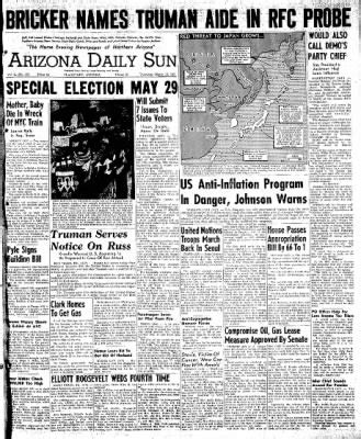 Arizona Daily Sun from Flagstaff, Arizona on March 15 ... Newspapers In Flagstaff Arizona