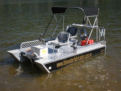 bluewater boat plans bluewater fabrictors small catamarans pontoon boat