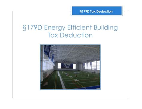 irc section 179d engineering 179d tax deduction and cost segregation