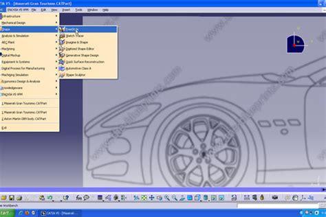 tutorial car design in catia v5 part 1 tutorial car design in catia v5 part2 grabcad
