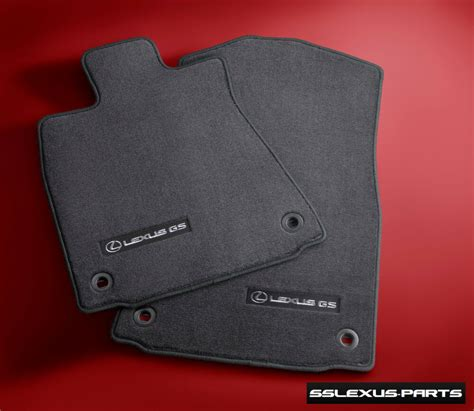 Lexus Oem Floor Mats - lexus gs350 gs450h 2013 2015 rwd 4pc oem genuine