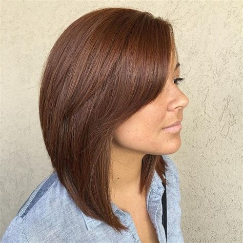 hairstyles long bob with layers and side bangs long bob 60 inspiring long bob hairstyles and lob haircuts 2018