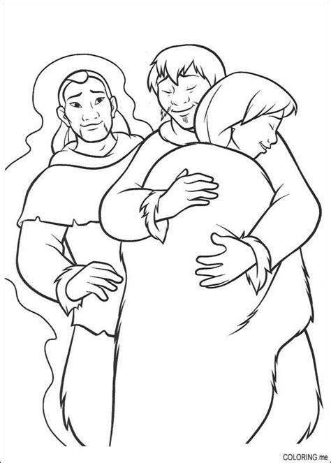 bear hug coloring pages coloring page brother bear human hug coloring me
