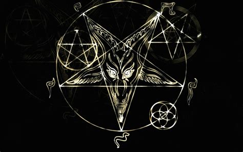 satanic goat wallpaper awswallpapershd com