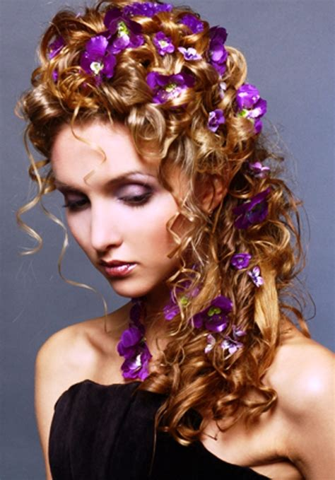 Hairstyles For Flower by 223 Best Images About Hairstyles With Flowers On