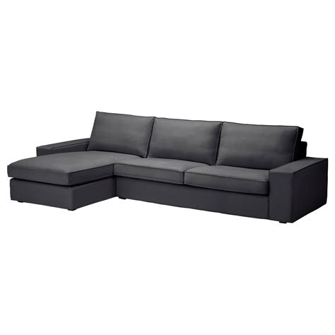 kivik sofa and chaise lounge kivik sofa and chaise lounge dansbo gray sofa