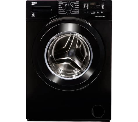 black machine buy beko wx742430b washing machine black free delivery currys