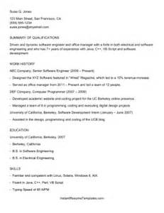 ats friendly resume format example good resume template