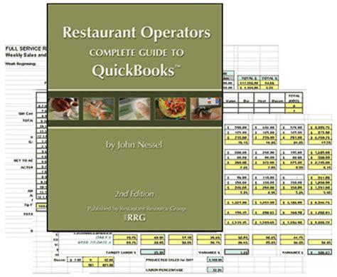 quickbooks tutorial for restaurant restaurant quickbooks guide 2nd edition ebook plus