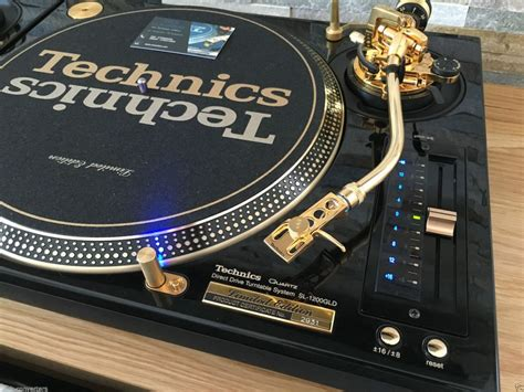 best technics turntables a set of gold technics sl 1200 turntables is up for