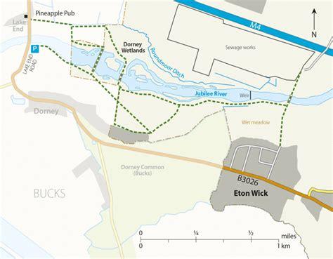 river thames scheme map jubilee river dorney wetlands