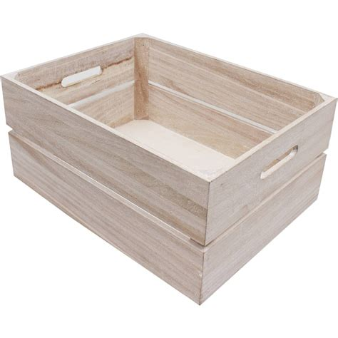 how to a not to in crate wooden crate 40 x 30 x 18 cm hobbycraft