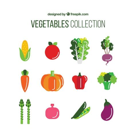vegetables vector collection of nutritious vegetable vector free