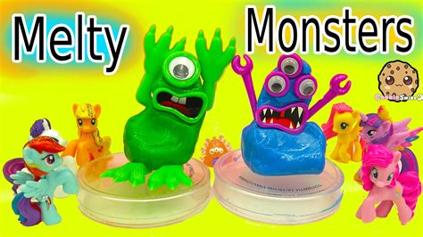 create your own melty monster putty play video with my