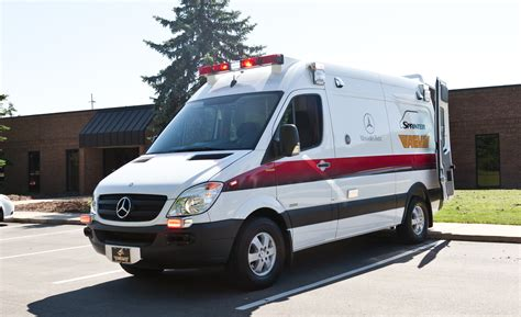 mercedes brings a traumahawk sprinter ambulance to