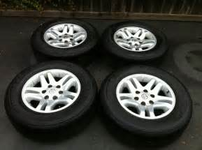 Toyota Rims Set Of 4 Factory Toyota Tundra Wheels W Tires So Cal