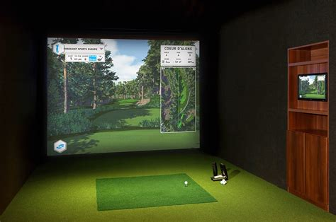 used full swing golf simulator for sale golf simulators residential foresight sports