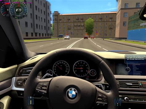 city car driving bmw m5 f10 remake hd with g27