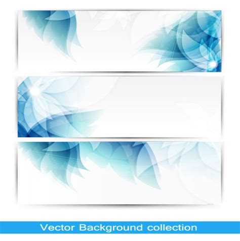 layout de banner gratis 4 designer abstract banner02 vector material