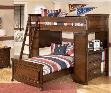 bunk bed loft with desk build loft bunk bed with desk all home ideas and decor