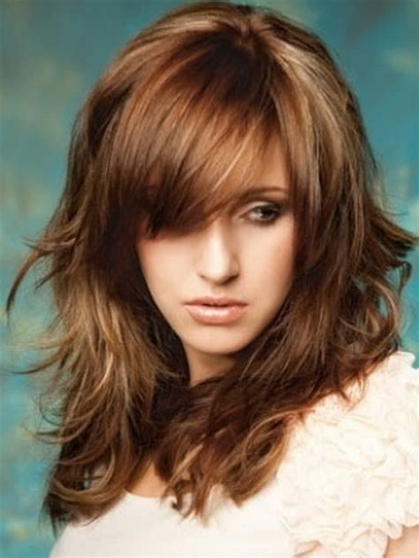 layered long haircut with height on top short haircuts with long layers on top