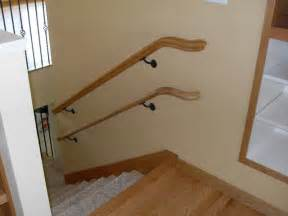 Wall Mounted Handrail For Stairs Handrails For Little Dudes And Dudetts Modern