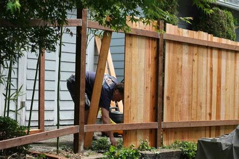 how to build a fence ayanahouse