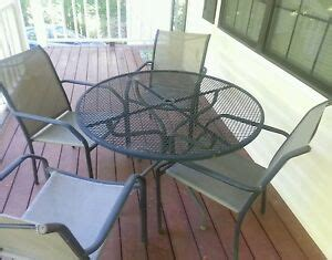 wrought iron patio furniture ebay