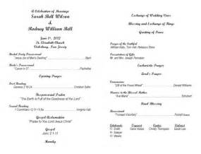 catholic ceremony program template best photos of catholic wedding program template microsoft