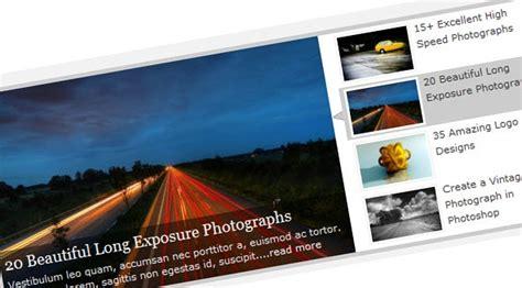 tutorial jquery image slider create featured content slider using jquery ui
