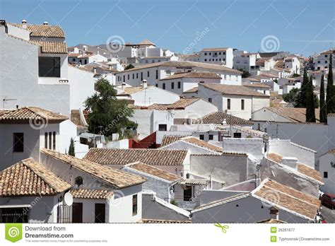 houses in spain white houses in ronda spain royalty free stock photography image 26261877
