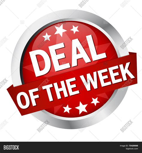 Deal Of The Week 25 At Adasacom button banner quot deal week quot vector photo bigstock