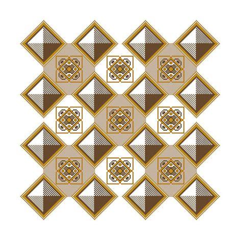 schemi punto croce per cuscini schemi punto croce cuscino a rombi marroni libri
