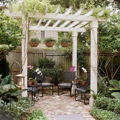 22 beautiful garden design ideas wooden pergolas and