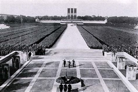 hitler nuremberg nazi rallies nazi party rally grounds