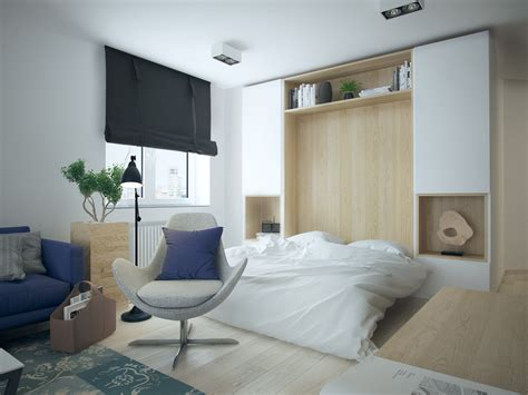 modern murphy bed with 5 apartment designs 500 square
