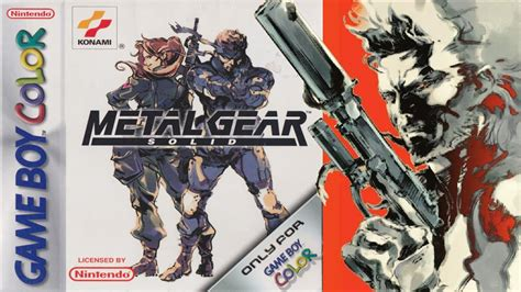 metal gear solid gameboy color metal gear solid boy color gameplay hd tose