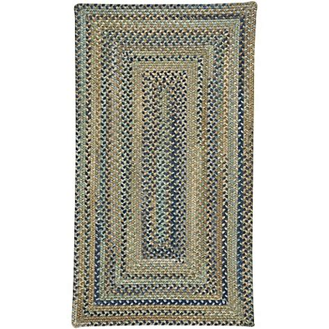 8 foot braided rugs buy capel rugs tooele braided 8 foot x 11 foot area rug in green from bed bath beyond
