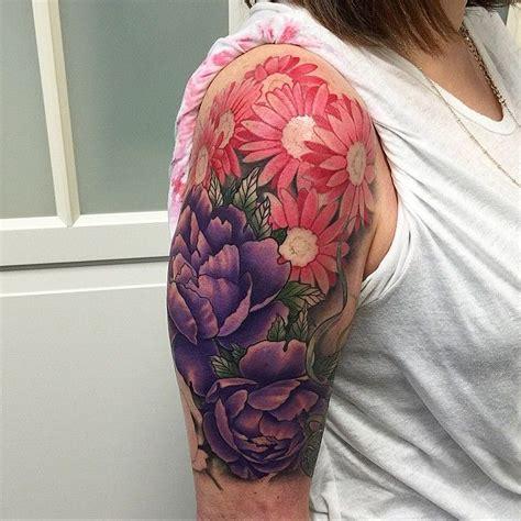 quarter sleeve daisy tattoo 30 nice daisy flower tattoos tatuajes spanish tatuajes