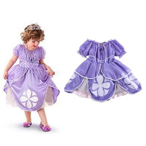 Princess Sofia Costume Baby Girls Flower Party Bling Princess Costume From Sofia The Printable