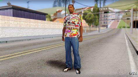 Tshirt Stiker Bomb sticker bomb t shirt para gta san andreas